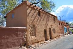 Casa di adobe storica Fotografia Stock