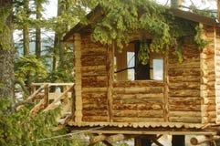 Casa di albero Immagini Stock
