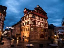 Casa di Albrech Durer Immagine Stock