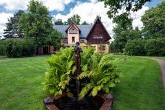 Casa di Anders Zorns in Mora Immagini Stock