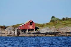 Casa di barca di Bolga Immagini Stock Libere da Diritti