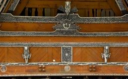 Casa di Batak in Sumtra Fotografia Stock