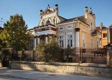 Casa di Bekteshovci in Prilep macedonia immagine stock