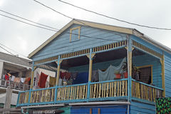 Casa di Belize immagini stock