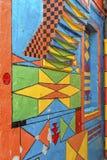 Casa di Bepi, Burano, Italia Immagini Stock Libere da Diritti