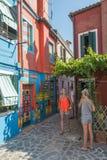 Casa di Bepi, Burano, Italy Royalty Free Stock Photo