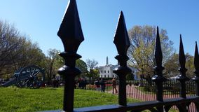 Casa di bianco del Washington DC Fotografia Stock Libera da Diritti