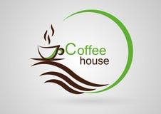 Casa di caffè Fotografia Stock
