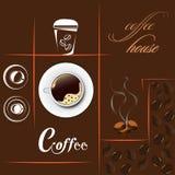 Casa di caffè Illustrazione Vettoriale