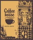 Casa di caffè Fotografie Stock Libere da Diritti