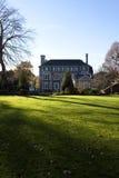 Casa di campagna aristocratica in Inghilterra immagini stock libere da diritti