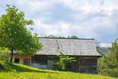 Casa di campagna in Carpathians Immagine Stock