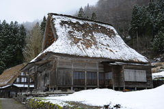 Casa di campagna del giapponese di stile tradizionale Fotografia Stock