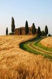 Casa di campagna della Toscana Immagine Stock