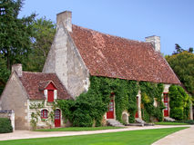 Casa di campagna francese Fotografie Stock Libere da Diritti