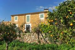 Casa di campagna in Majorca Fotografie Stock Libere da Diritti