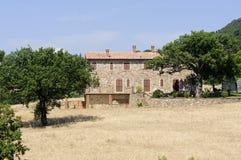 Casa di campagna in Maremma (Toscana) Fotografia Stock Libera da Diritti