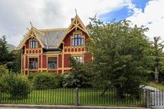 Casa di campagna, Norvegia immagine stock libera da diritti