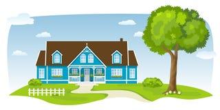 Casa di campagna piacevole Fotografia Stock