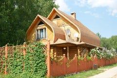 Casa di campagna russa Fotografie Stock