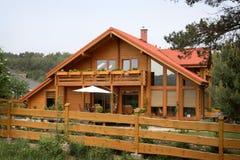 Casa di campagna rustica Fotografie Stock