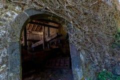 Casa di campagna vecchia Fotografia Stock