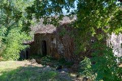 Casa di campagna vecchia Fotografia Stock Libera da Diritti