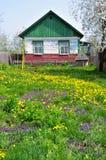casa di campagna vecchia Immagine Stock