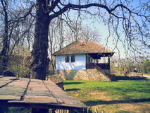 Casa di campagna vecchia Immagini Stock