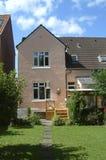 Casa di città danese Fotografie Stock