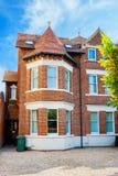 Casa di città Oxford, Inghilterra Fotografia Stock Libera da Diritti