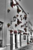 Casa di città spagnola Fotografia Stock