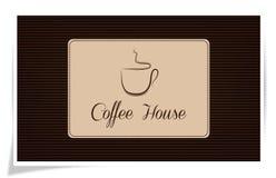 Casa di Coffe Fotografia Stock Libera da Diritti