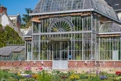 Casa di conservazione delle piante Immagine Stock