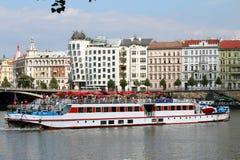 Casa di Dancing a Praga Immagini Stock Libere da Diritti