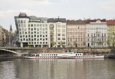 Casa di Dancing a Praga Fotografia Stock