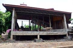 Casa di dimora della costruzione house Immagine Stock