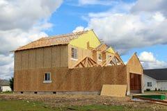 Casa di dimora della costruzione house Immagine Stock Libera da Diritti