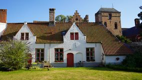 Casa di Dio, Bruges, Belgio Fotografia Stock