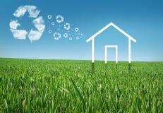 Casa di Eco Immagine Stock Libera da Diritti