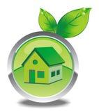 Casa di Eco immagini stock libere da diritti