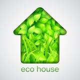 Casa di Eco Fotografia Stock Libera da Diritti