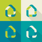 Casa di Eco Immagine Stock