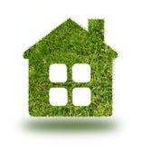 Casa di erbe su fondo bianco Fotografia Stock Libera da Diritti
