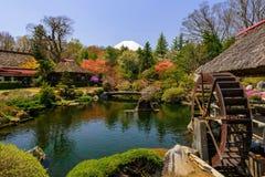 Casa di eredità di Oshino Hakkai fotografie stock