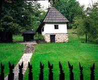 Casa di estate idilliaca Fotografia Stock