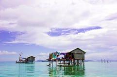 Casa di galleggiamento Fotografia Stock