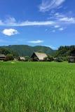 Casa di Gassho-zukuri Fotografia Stock Libera da Diritti