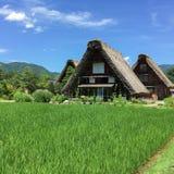 Casa di Gassho-zukuri Fotografia Stock