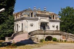 Casa di George Enescu a Bucarest Fotografia Stock Libera da Diritti